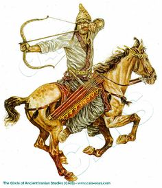 Crassus went to war against the Parthian Empire with no official backing and was crushed by a much smaller enemy with superior tactics including using horse archers such as this one