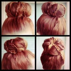 how to: the hipster bun // cute twist on the sock bun