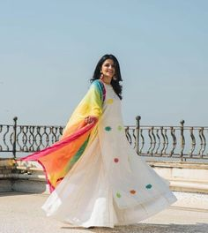 Buy White Poly Silk Semi Stitched Lehenga Style Suit online in India at best price.Product Details Poly Silk Plain White Semi Stitched Lehenga Style Suit - Disclaimer : Color of Pakistani Dresses, Indian Dresses, Indian Outfits, Indian Saris, Indian Attire, Indian Wear, White Anarkali, Saturday Outfit, Lehenga Style