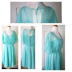 Vintage 40'S 50'S Dress Ooak Mod