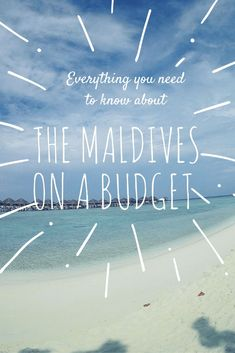 The Maldives is known for being a luxury travel destination, but it doesn't have to be! Budget travel is possible on most of the country's islands. Maldives Destinations, Maldives Travel, Travel Destinations, Maldives Trip, Travel Deals, Budget Travel, Travel Plan, Girls Love Travel, International Travel Tips
