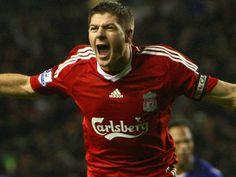 Ballon d'Or Steven Gerrard a voté pour Luis Suarez Liverpool Captain, Liverpool Legends, Liverpool Fc, Steven Gerrard, Ballon D'or, Soccer News, Football Soccer, Stevie G, Image Foot