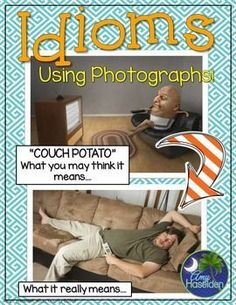 Figurative Language Idioms Using Real Pictures