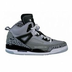 finest selection 4803e aff0c 315371-091 Air Jordan Spizike Cool Grey Stealth Black Light Graphite White  A23008