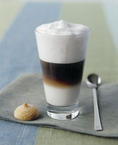 Buon Giorno how about a Tipsy Caramel Cafe Macchiato Cocktail! Si! That's right...spike it baby! What you'll need...  2 ozs liqueur (caramel)  2ozs coffee liqueur  1 oz vanilla vodka  Add to some espresso with a lil half & half cream & top with steamed milk! CHEERS!