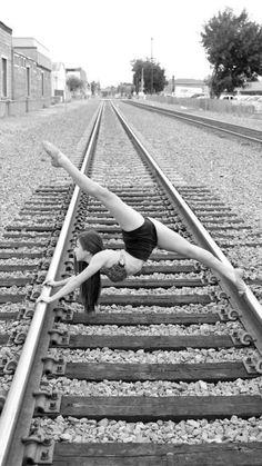 #Dance #TrainTracks #Flexibility