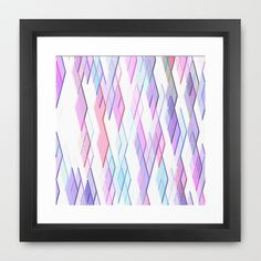 Re-Created Vertices No. 13 #Framed #Art #Print by #Robert #S. #Lee - $35.00