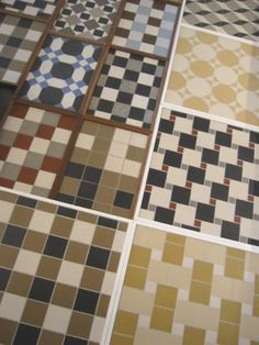 Winckelmans tile sample (over 5000 standard tiles)