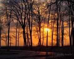 Sunset At Presque Isle, via Flickr.