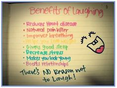 laughter... truly the best medicine