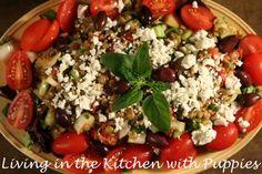 Moosewood Mondays: Mediterranean Lentil Salad