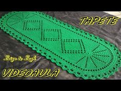TAPETE OVAL SIMPLES (2) #LUIZADELUGH - YouTube