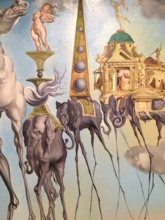 DALI Salvador - Spanish (Figueres 1904-1989) - PSYCHEDELIC SURREALIST - taking madness serious or not ?