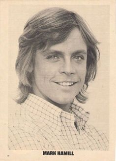 It's Mark Hamill. The many faces of Mark Hamill. Star Wars Film, Star Wars Poster, Star Trek, Star Wars Episode 4, Episode Vii, Mark Hamill Luke Skywalker, Classic Monsters, Harrison Ford, Carrie Fisher