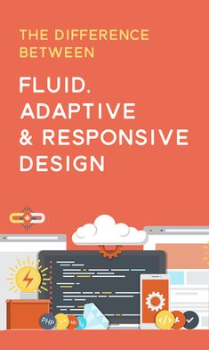 What's the Difference Between Fluid, Adaptive, and Responsive Design?