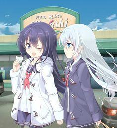 Hibiki e Akatsuki