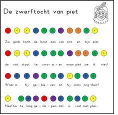 Liedje: Sinterklaas De zwerftocht van Piet