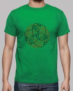 Prezzi e Sconti: #Celtico ragazzo nodo verde  ad Euro 20.00 in #Tostadora #T shirt uomo