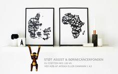 Illustrationer og plakater af Anita Terese