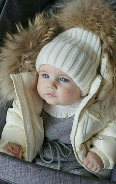 Its really very cold out here.. winter photoshoot cut baby its cold outside