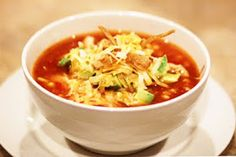 The Whicker Basket: Chicken Tortilla Soup