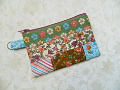 Coin Purse Pouch Cosmetic  READY TO SHIP  by CyndeesGarden on Etsy