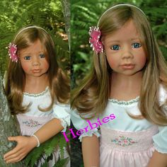 """Masterpiece Alanna Monika Levenig Exclusive 46"""" Full Vinyl Ball Jointed.  Have her in my living room dressed in an adorable sundress.  This is how my Paige looked when I bought her."""