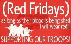 Support our troops! Army Mom, Military Wife, Air Force National Guard, Red Friday, Love Gun, Support Our Troops, Think On, Looks Cool, Girl Power