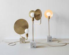 Workstead's Orbit lights feature movable metal reflectors