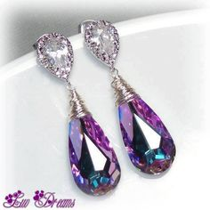 simply superb purple earing!