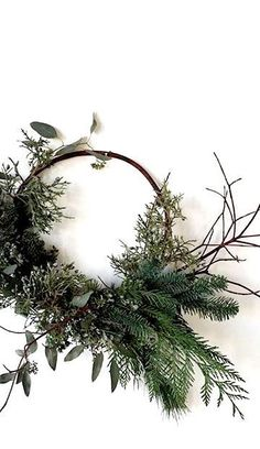 Source by tragetasche Bohemian Christmas, Noel Christmas, Scandinavian Christmas, Simple Christmas, Winter Christmas, Christmas Crafts, Christmas Decorations, Willow Wreath, Diy Y Manualidades