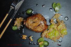 R'n'G Kitchen: Golonka z indyka pieczona w marynacie z octem bals...