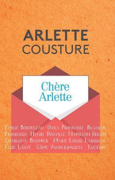 Chère Arlette - Arlette Cousture - 224 pages, - Couverture souple. - Référence : 902430 #Livre #Lecture #Quebec #Cadeau