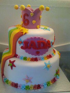 K3 taart voor Jada
