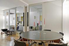 Reforma integral de vivienda para un senador en Madrid. Con Karmele Montejano, arquitecta. 2003