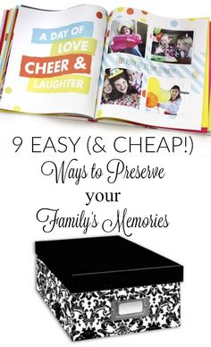 Looking for photography ideas? Stop right there... Read about how to preserve those amazing family photos in this post with 9 different ways to store family photos.