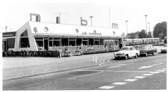 Sybold van Ravesteyn, Busstation NBM, Wageningen 1966