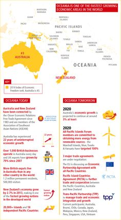 Oceania is an integral part of the fast-growing Asia-Pacific economic area with strong connections to the Americas. Opportunities for international business with Oceania are expanding as global trade networks continue to grow. Learn more on the DHL Guide