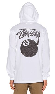 Shop for Stussy 8 Ball Stamp L/S Hood Tee in White at REVOLVE. Free 2-3 day shipping and returns, 30 day price match guarantee.