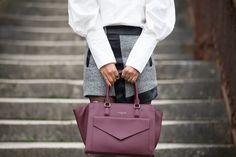 #preppy #military #look #manteau #veste #officier #chic #classy #fashionstyle #fashion #col #lavallière #fall #autumn #outfit #chic #romantic #burgundy #bag #bordeaux