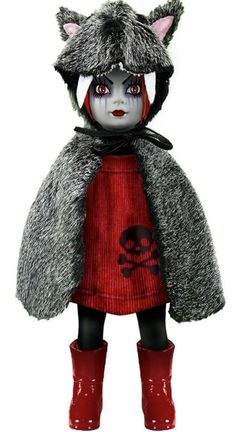 I have this living dead doll and i love her.I had her for two years. She is my favorite one.