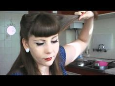 Tutorial Victory Rolls - YouTube. Great tutorial for quick easy victory rolls