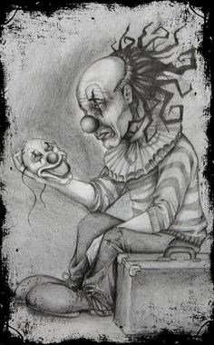 Sad Clown design by dmrotten on DeviantArt