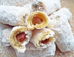 TraRita sütödéje és egyéb munkái : Hókifli Hungarian Desserts, Hungarian Recipes, Cake Recipes, Dessert Recipes, Cherry Cake, Creative Cakes, Other Recipes, Diy Food, Cake Cookies