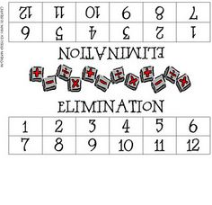 Elimination a Math Dice Game