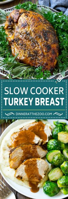 Low Unwanted Fat Cooking For Weightloss Slow Cooker Turkey Breast Recipe Crock Pot Turkey Breast Turkey Breast Thanksgiving Turkey Slow Cooker Turkey, Crock Pot Slow Cooker, Cooking Turkey, Slow Cooker Recipes, Turkey In Crock Pot, Slow Cooking, Cooking Light, Cooking Wine, Roast Turkey Breast