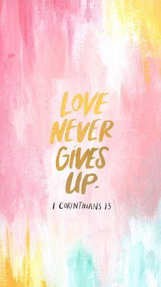1 CORINTHIANS 13