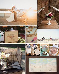 airplane Wedding Ideas | Airplane Wedding! | Future Jordan Wedding Ideas