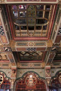 Cardiff Castle Interior  Designed by William Burges