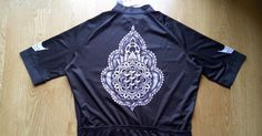 The Fixed Gear World: #productReview | Mandala cycling jersey, handmade in UK by Duke of the Downs